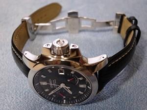 時計ベルトをモレラートのティポブライトリングクオイオに交換したセイコーブライツフェニックス SAGG-007