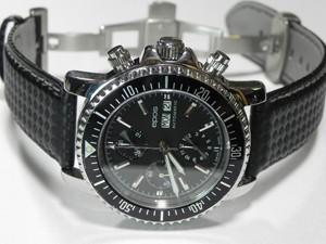 時計ベルトをモレラートのバイキングに交換したepos 3365BKM