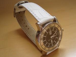 時計ベルトをモレラートのボーレに交換したブルガリソロテンポ