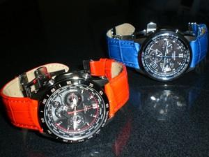 時計ベルトをモレラートのボーレに交換したカシオOCEANUS