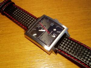 時計ベルトをモレラートのバイキングに交換したルイエラールカレ