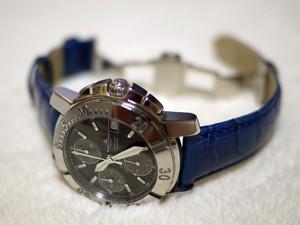 時計ベルトをモレラートのルイジアナに交換したボーム&メルシエケープランドクロノ