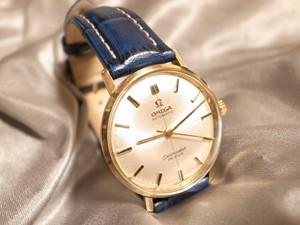 時計ベルトをモレラートのPLUSに交換したOMEGA Seamaster DE VILLE