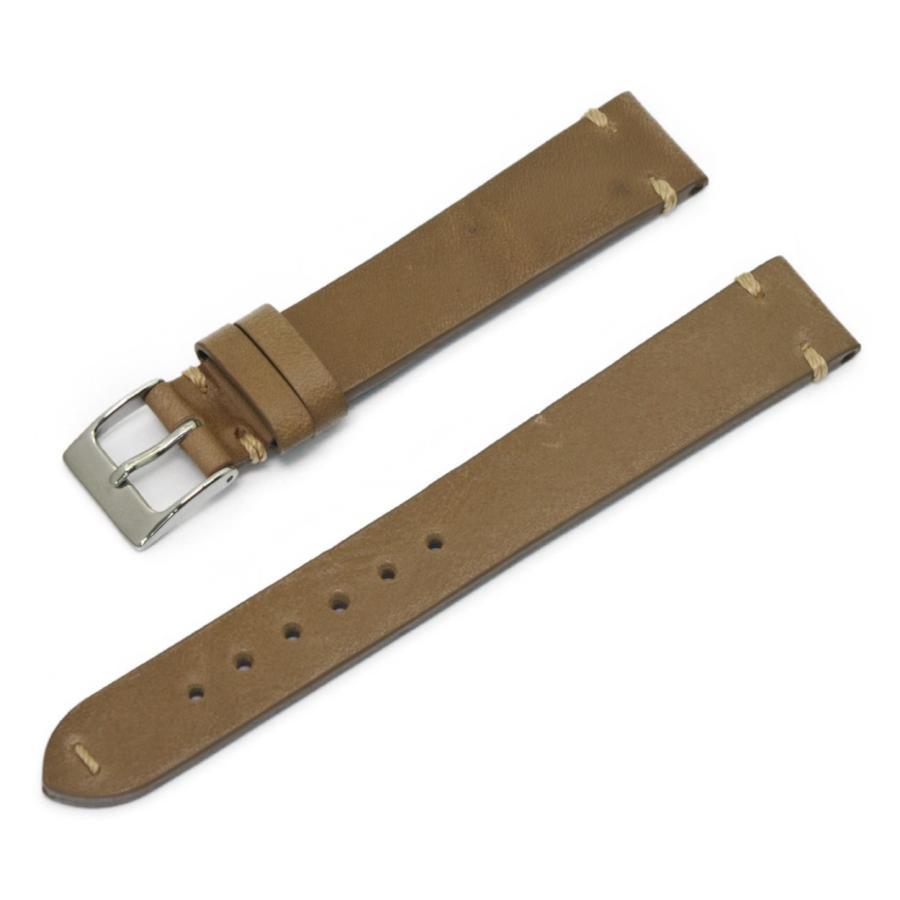 腕時計ベルト バンド 交換 牛革 24mm 22mm 20mm 19mm 18mm CASSIS GRENOBLE X0031331 mano-a-mano 20