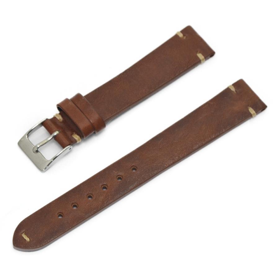 腕時計ベルト バンド 交換 牛革 24mm 22mm 20mm 19mm 18mm CASSIS GRENOBLE X0031331 mano-a-mano 21