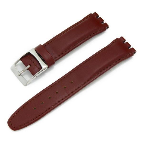 腕時計ベルト バンド 交換 牛革 スウォッチ腕時計用 17mm 20mm CASSIS TYPE SWT X1118840|mano-a-mano|12