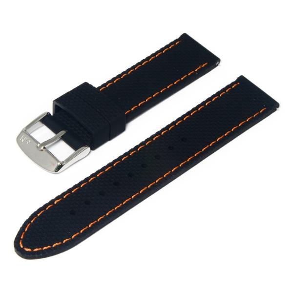 腕時計ベルト バンド 交換 シリコン 24mm 22mm 20mm MORELLATO LIVENZA X5275187 mano-a-mano 21
