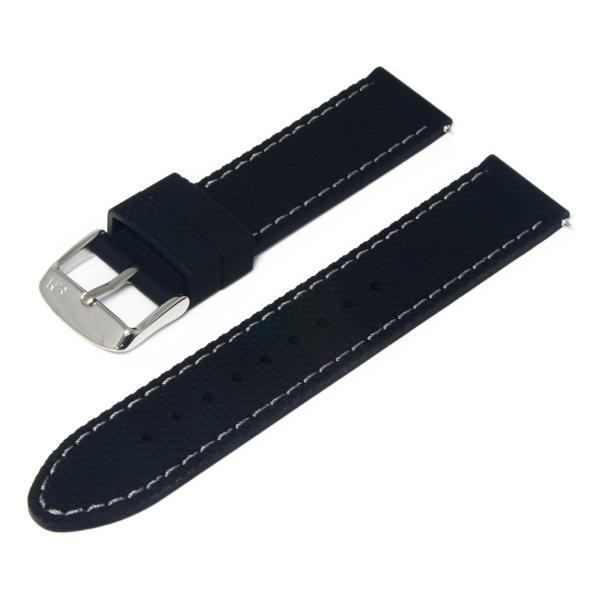 腕時計ベルト バンド 交換 シリコン 24mm 22mm 20mm MORELLATO LIVENZA X5275187 mano-a-mano 22