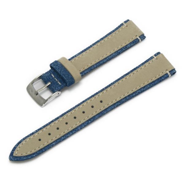 腕時計ベルト バンド 交換 ファブリック 牛革 22mm 20mm MORELLATO VECELLIO X5332C38|mano-a-mano|17