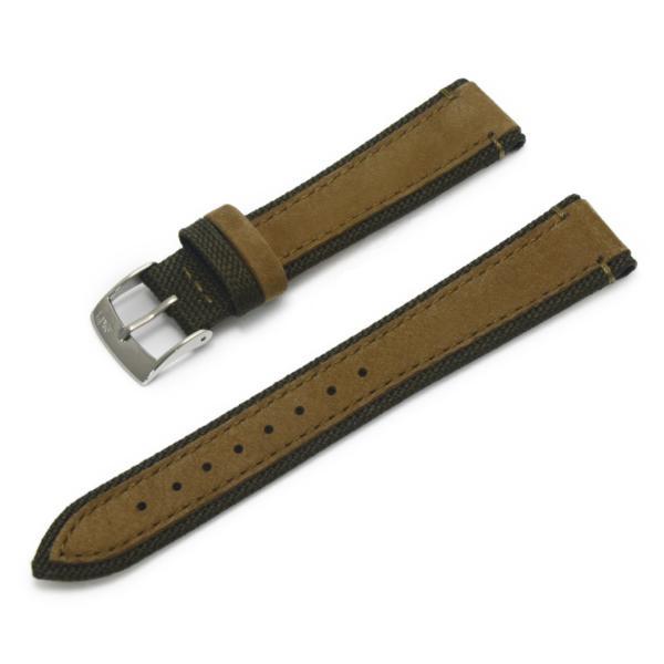腕時計ベルト バンド 交換 ファブリック 牛革 22mm 20mm MORELLATO VECELLIO X5332C38|mano-a-mano|18