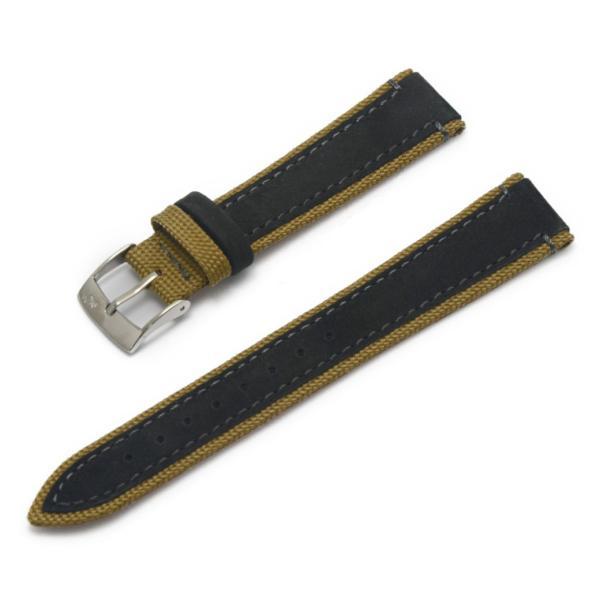 腕時計ベルト バンド 交換 ファブリック 牛革 22mm 20mm MORELLATO VECELLIO X5332C38|mano-a-mano|19