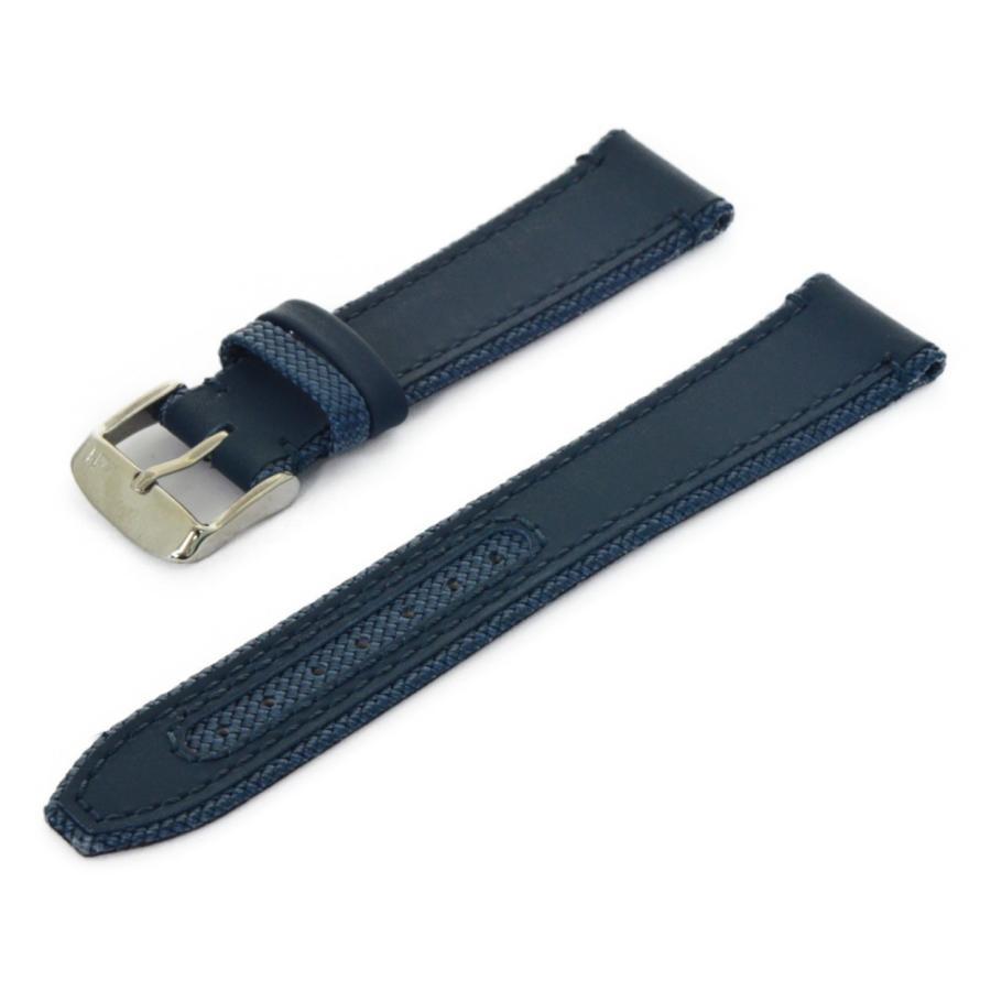 腕時計ベルト バンド カーフ(ラバーコーティング)・ファブリック MORELLATO HYDROSPEED X5395B55 mano-a-mano 19