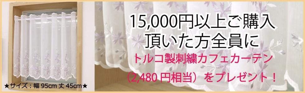 15,000円以上プレゼント