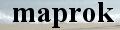 プリザーブドフラワー maprok ロゴ