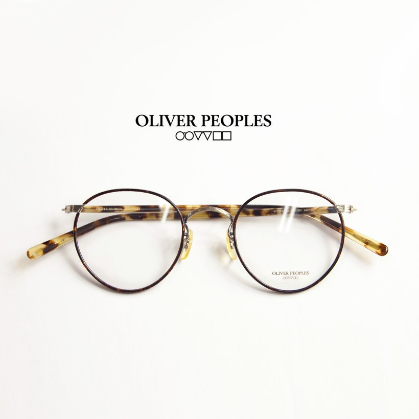 OLIVER PEOPLES/オリバーピープルズ /OP-78R/セル輪コンビボストンメガネ/度付きメガネ/伊達メガネ
