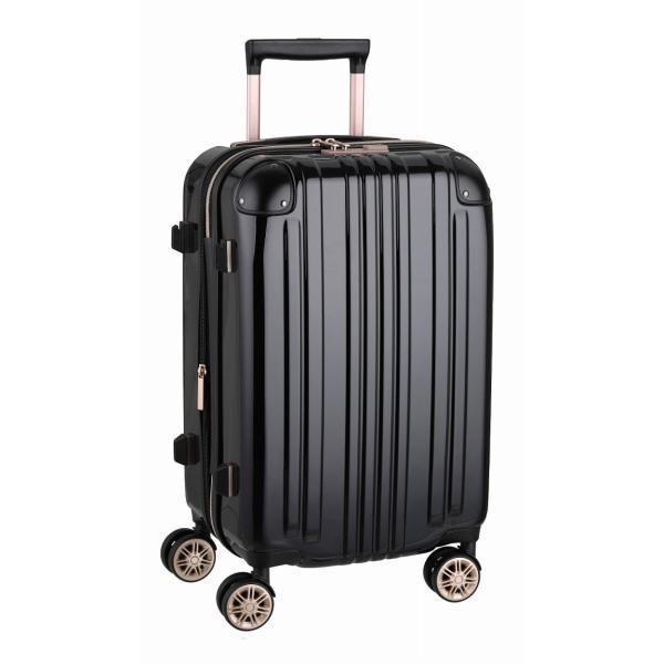 アウトレット スーツケース キャリーケース キャリーバッグ トランク 小型 軽量 Sサイズ おしゃれ 静音 ハード ファスナー 拡張 B-5122-55|marienamaki|28