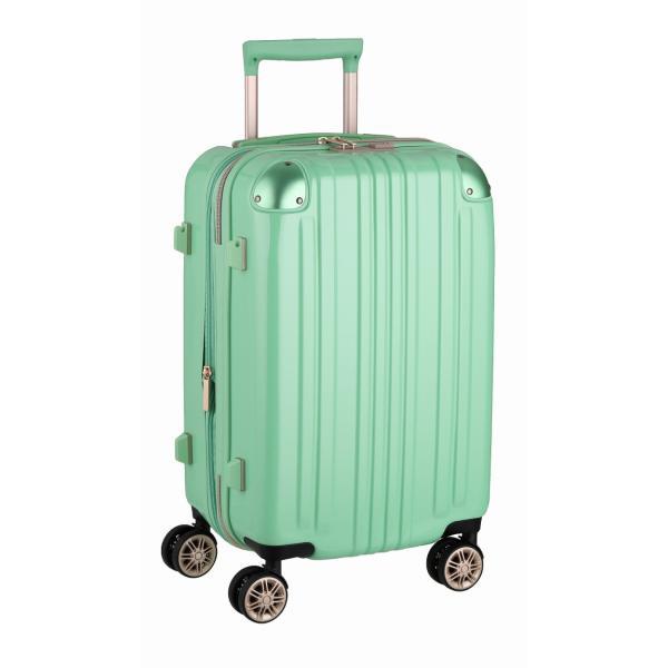 アウトレット スーツケース キャリーケース キャリーバッグ トランク 小型 軽量 Sサイズ おしゃれ 静音 ハード ファスナー 拡張 B-5122-55|marienamaki|25