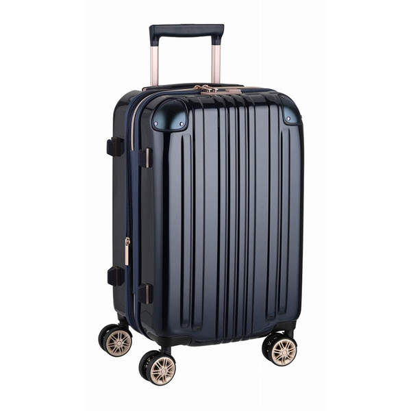 アウトレット スーツケース キャリーケース キャリーバッグ トランク 小型 軽量 Sサイズ おしゃれ 静音 ハード ファスナー 拡張 B-5122-55|marienamaki|24