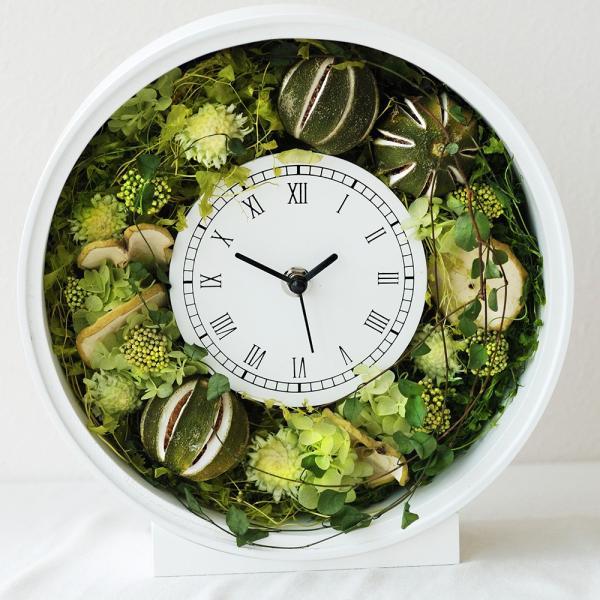 還暦祝い 女性『花時計』プリザーブドフラワー 結婚祝い ギフト 誕生日祝い 還暦祝い 豪華|marika|22