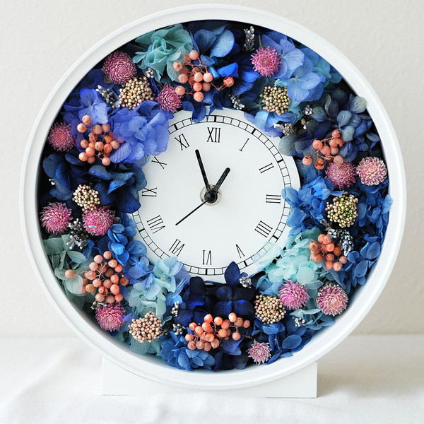 還暦祝い 女性『花時計』プリザーブドフラワー 結婚祝い ギフト 誕生日祝い 還暦祝い 豪華|marika|23