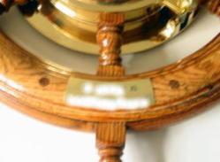 ラット時計(真鍮プレート)