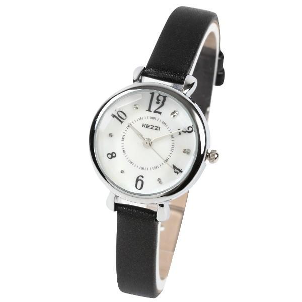 レディース ファッション 腕時計 一般防水 時計 カラー PUベルト ブラック ライトブルー ピンク ホワイト|markgraf|05