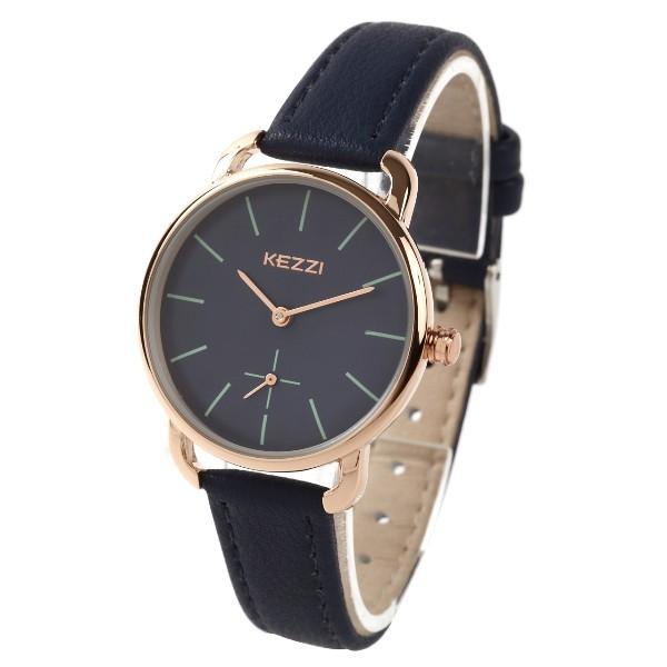 レディース ファッション 腕時計 時計 カラー 防水PUベルト ブラック ピンク ホワイト ブラウン ダークグリーン ダークブルー|markgraf|10