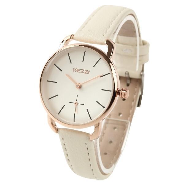 レディース ファッション 腕時計 時計 カラー 防水PUベルト ブラック ピンク ホワイト ブラウン ダークグリーン ダークブルー|markgraf|05