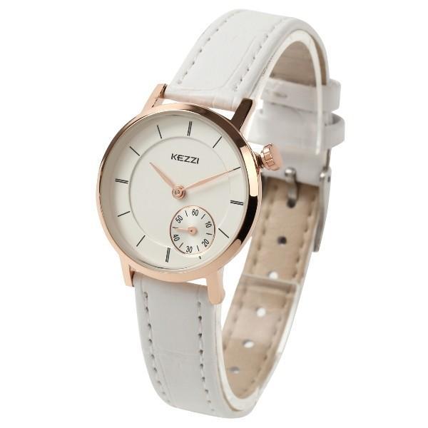 レディース ファッション 腕時計 時計 カラー 防水PUベルト ブラック ホワイト ブラウン おしゃれ カジュアル markgraf 05