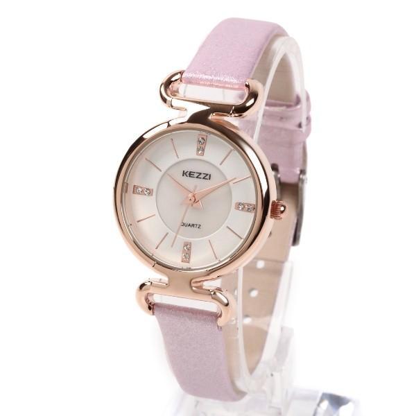 レディース ファッション 腕時計 時計 カラー 防水PUベルト ブラック ライトブルー ピンク レッド ホワイト|markgraf|07