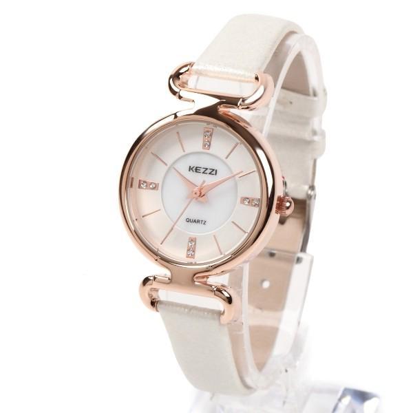 レディース ファッション 腕時計 時計 カラー 防水PUベルト ブラック ライトブルー ピンク レッド ホワイト|markgraf|09