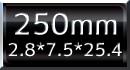 ダイヤモンドカッター250mm