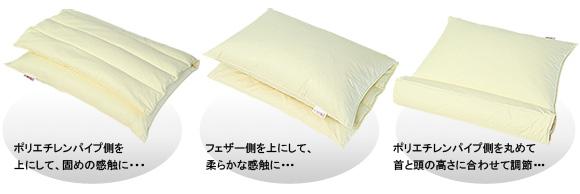 折りかさね枕の使い方は貴方次第