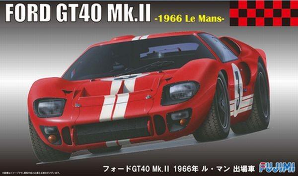 フジミ1 24 リアルスポーツカーシリーズno 51 フォードgt40 66 ルマン