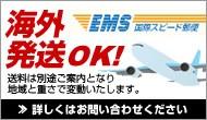 海外発送EMS