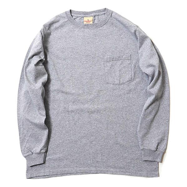 グッドウェア ポケット Tシャツ Goodwear L/S CREW NECK POCKET TEE|mash-webshop|08