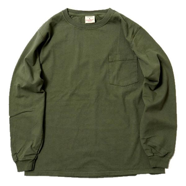 グッドウェア ポケット Tシャツ Goodwear L/S CREW NECK POCKET TEE|mash-webshop|09