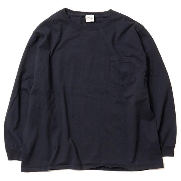 グッドウェア ポケット Tシャツ Goodwear BIG L/S CREW NECK POCKET TEE|mash-webshop|09