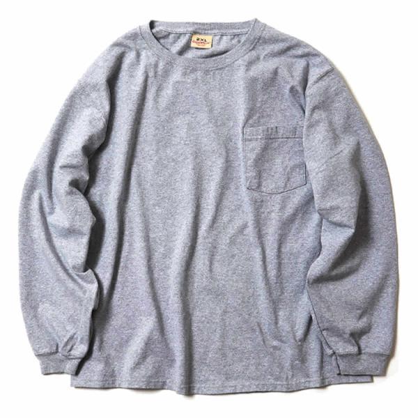 グッドウェア ポケット Tシャツ Goodwear BIG L/S CREW NECK POCKET TEE|mash-webshop|08