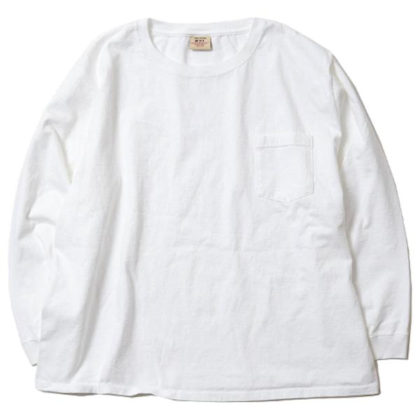 グッドウェア ポケット Tシャツ Goodwear BIG L/S CREW NECK POCKET TEE mash-webshop 07
