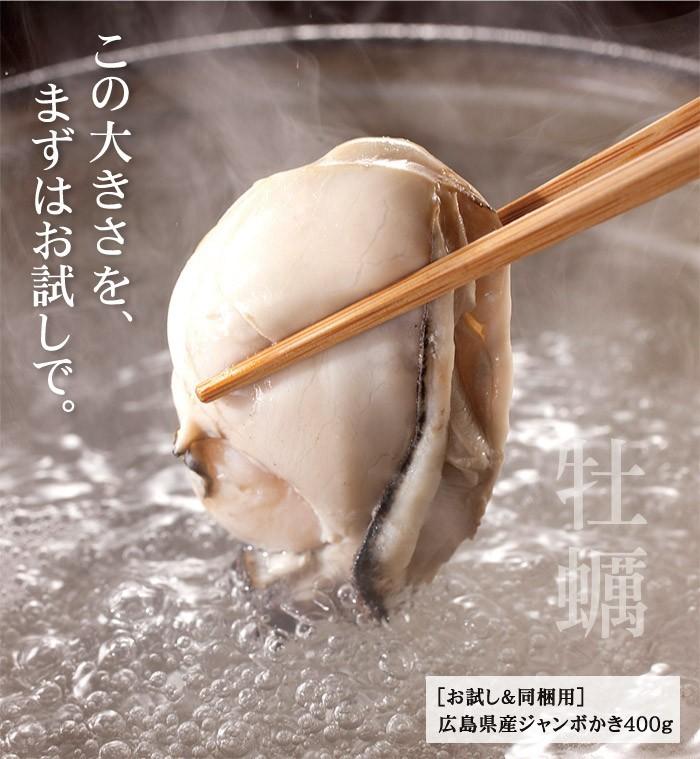【お試し用】広島県産かき剥き身