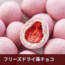 フリーズドライ苺チョコ