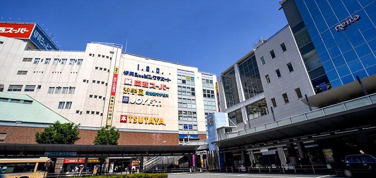 阪急電車 伊丹駅となりの伊丹ショッピング