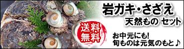 岩牡蠣・サザエ