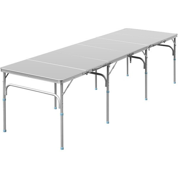 テーブル 折りたたみ アウトドア 折りたたみテーブル 六つ折り 収納式 アウトドアテーブル レジャーテーブル アルミ 製 高さ 調整 調節 送料無料|maxshare|05