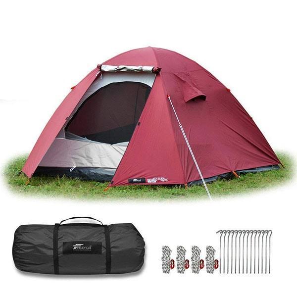 テント 4人用 ドームテント ドーム型 UVカット メッシュ フルクローズテント キャンプ アウトドア おしゃれ キャノピー 200x200 FIELDOOR 送料無料 maxshare 08