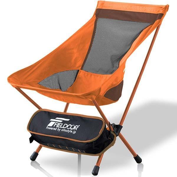 アウトドア チェア ポータブルチェア 椅子 折りたたみ 軽量 コンパクト アルミ製 ロッカーベース ロッキングチェア キャンプ 釣り 大きい FIELDOOR 送料無料|maxshare|23