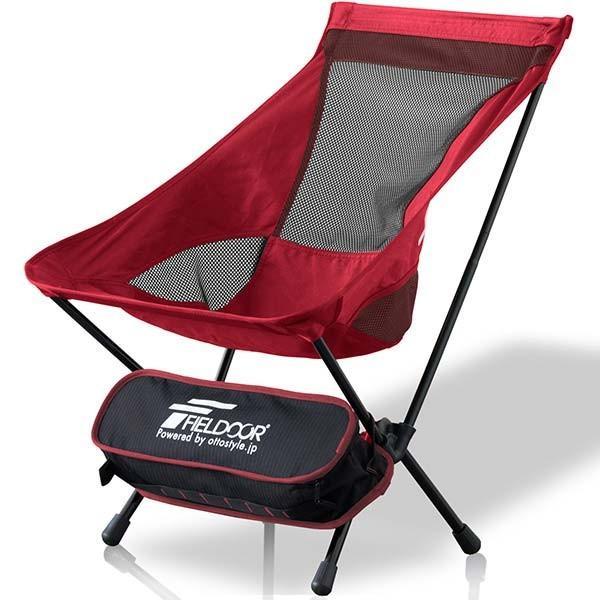 アウトドア チェア ポータブルチェア 椅子 折りたたみ 軽量 コンパクト アルミ製 ロッカーベース ロッキングチェア キャンプ 釣り 大きい FIELDOOR 送料無料|maxshare|25