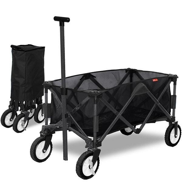キャリー カート アウトドア キャリーワゴン 折りたたみ ワイルドマルチキャリー スマート 簡単 便利 台車 キャンプ用品 FIELDOOR 送料無料 maxshare 17