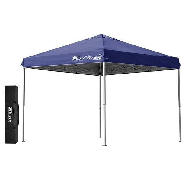 テント タープ タープテント 2.5m サイドフレーム強化版 ワンタッチ ワンタッチテント ワンタッチタープ 日よけ イベント アウトドア FIELDOOR 送料無料 maxshare 08